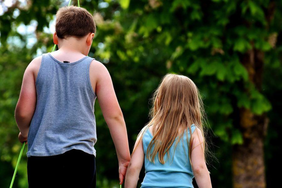 Dzieci, brat z siostra